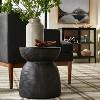 Grantsville Drum Accent Table Black - Threshold™ designed with Studio McGee - image 2 of 4