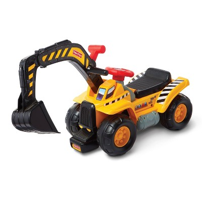 Fisher-Price Big Action Dig N' Ride Foot-to-Floor Ride-On