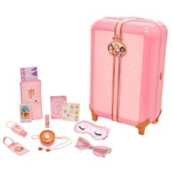 Disney Princess Style Collection Play Suitcase Travel Set