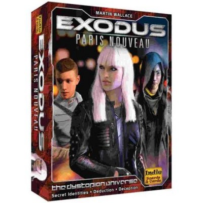 Exodus - Paris Nouveau Board Game