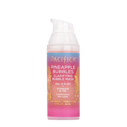Pacifica Pineapple Bubbles Clarifying Bubble Mask - 1.7 fl oz - image 1 of 3
