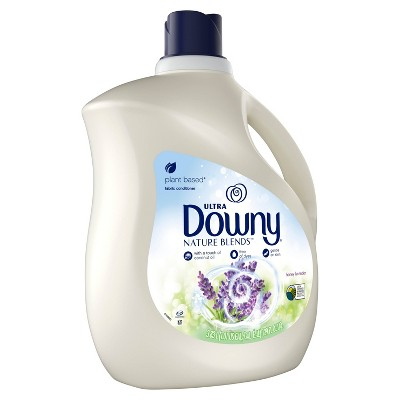 Downy Nature Blends Honey Lavender Liquid Fabric Conditioner - 129 fl oz