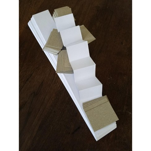 Cover-It Mini Accordion Book Kit, 2-3/8 x 1-1/2 Inches, pk of 72 - image 1 of 1