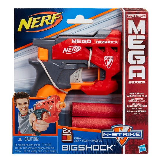 NERF N-Strike Mega Bigshock Blaster image number null