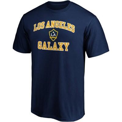 MLS Los Angeles Galaxy Men's Short Sleeve Crew Neck Core T-Shirt