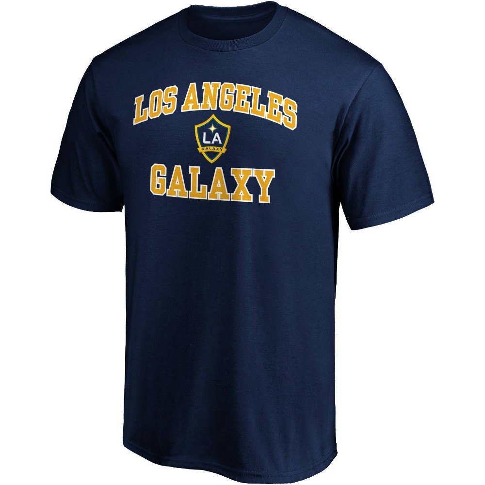 Mls Los Angeles Galaxy Men 39 S Short Sleeve Crew Neck Core T Shirt M