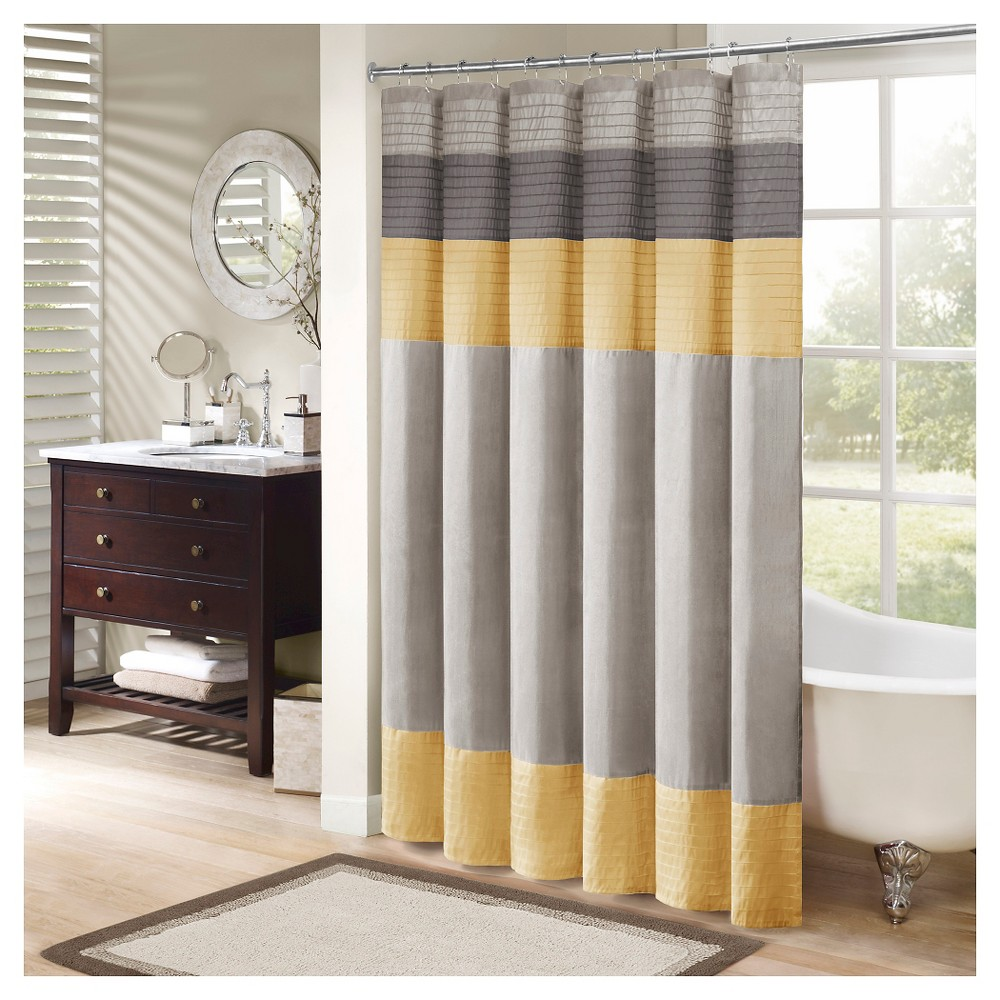 Shower Curtain - Yellow, Shower Curtain