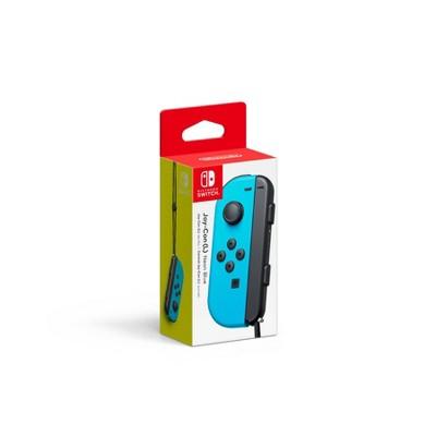 Nintendo Switch Joy-Con (L) Controller - Neon Blue