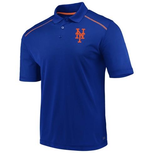 MLB New York Mets Men's Fan Engagement Polo Shirt - image 1 of 3
