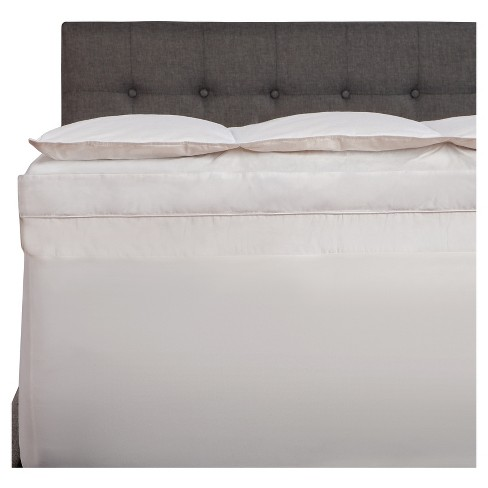 "Comfort Revolution 5"" Down/Feather/Memory Foam Topper - White (Queen) - image 1 of 3"