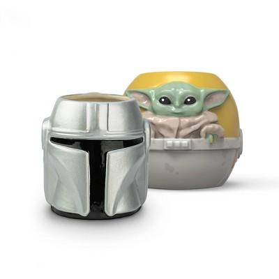 Star Wars: The Mandalorian 2pk 15oz Ceramic Sculpted Mugs - Zak Designs