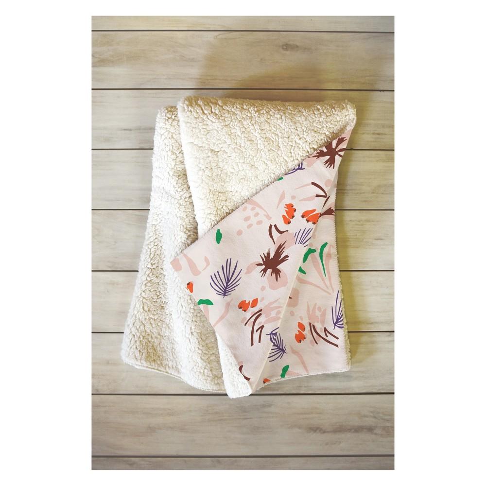 Image of 50''x60'' Holli Zollinger Anthology Of Pattern Seville Throw Blanket Brown - Deny Designs