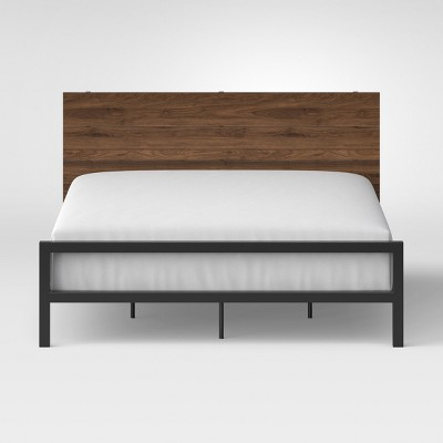 Loring Queen Bed Walnut - Project 62™