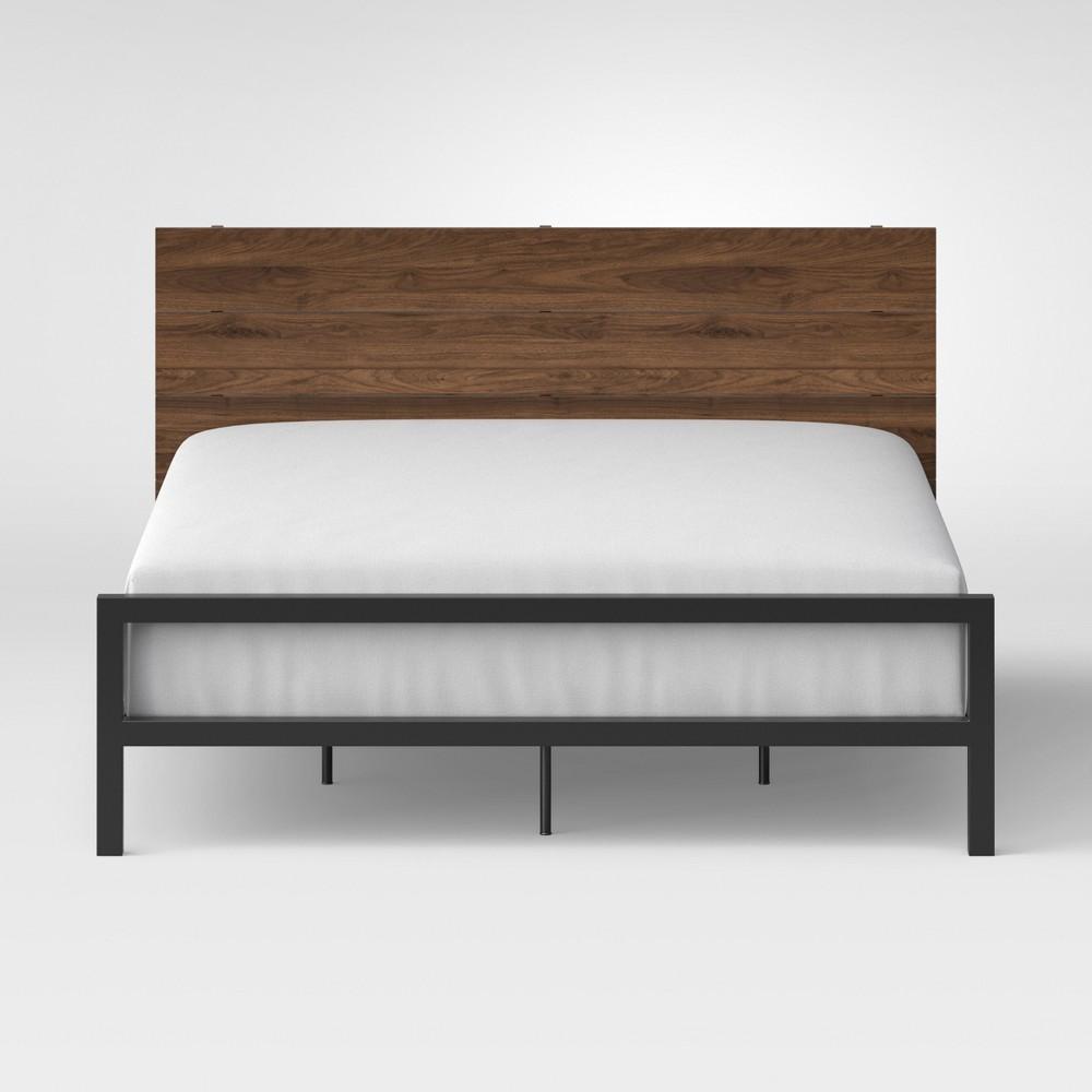 Loring Queen Bed Walnut (Brown) - Project 62
