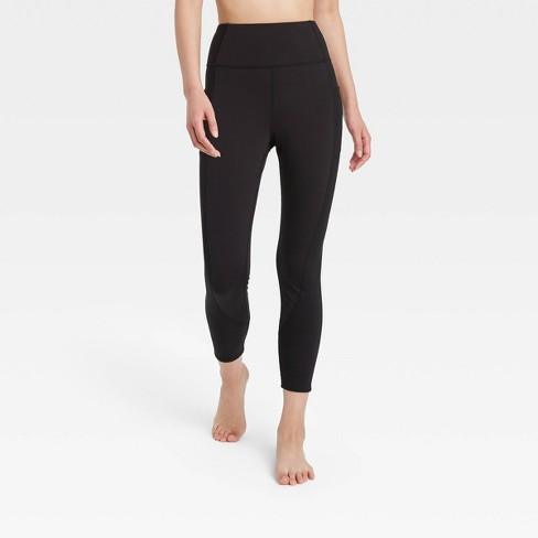 Women's Ultra High-Rise 7/8 Leggings with Ribbed Panels - JoyLab™ - image 1 of 2