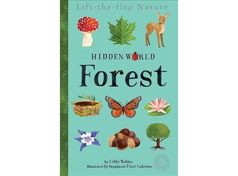 Hidden World Forest -  (360 Degrees) by Libby Walden (Hardcover) - image 1 of 1