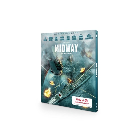 Midway (Target Exclusive) (Blu-Ray + DVD + Digital) - image 1 of 2