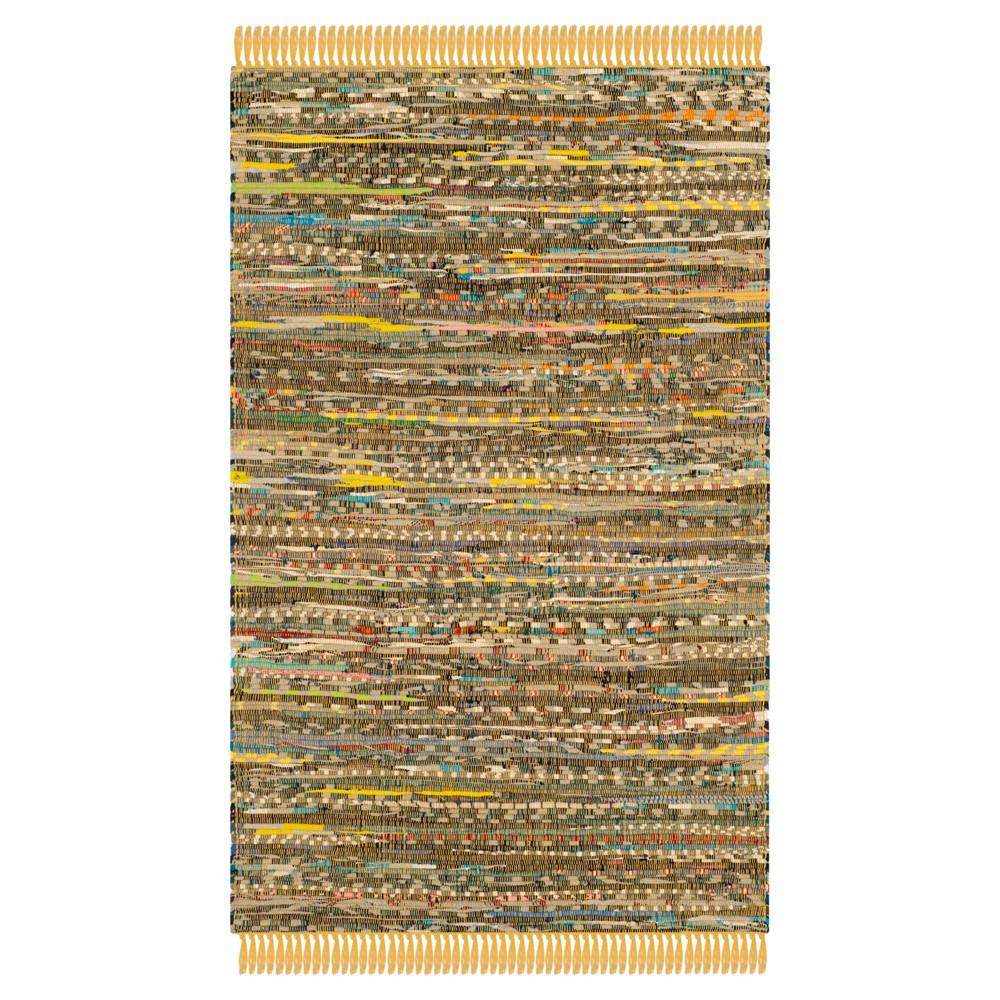 Huddersfield Accent Rug - Yellow / Multi (2'6 X 4') - Safavieh
