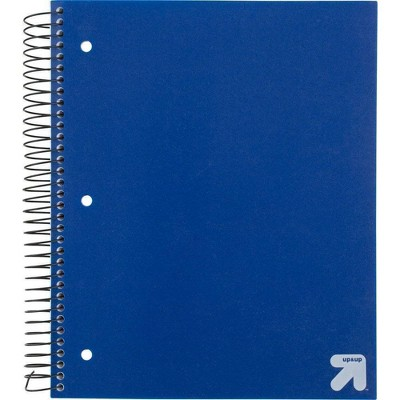 Spiral Notebook 5 Subject College Ruled 200 Sheets - up & up™