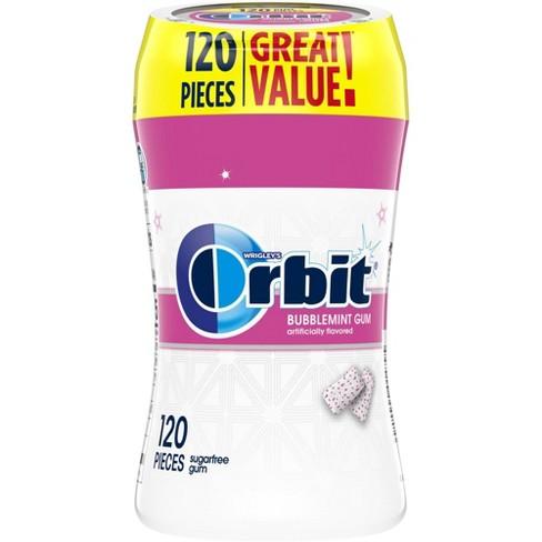 Orbit White Bubblemint Sugarfree Gum - 120ct - image 1 of 4
