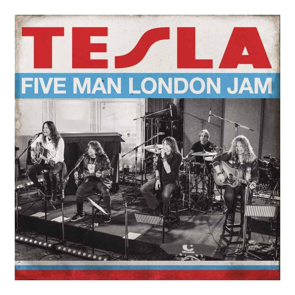 Tesla Five Man London Jam 2 Lp Vinyl