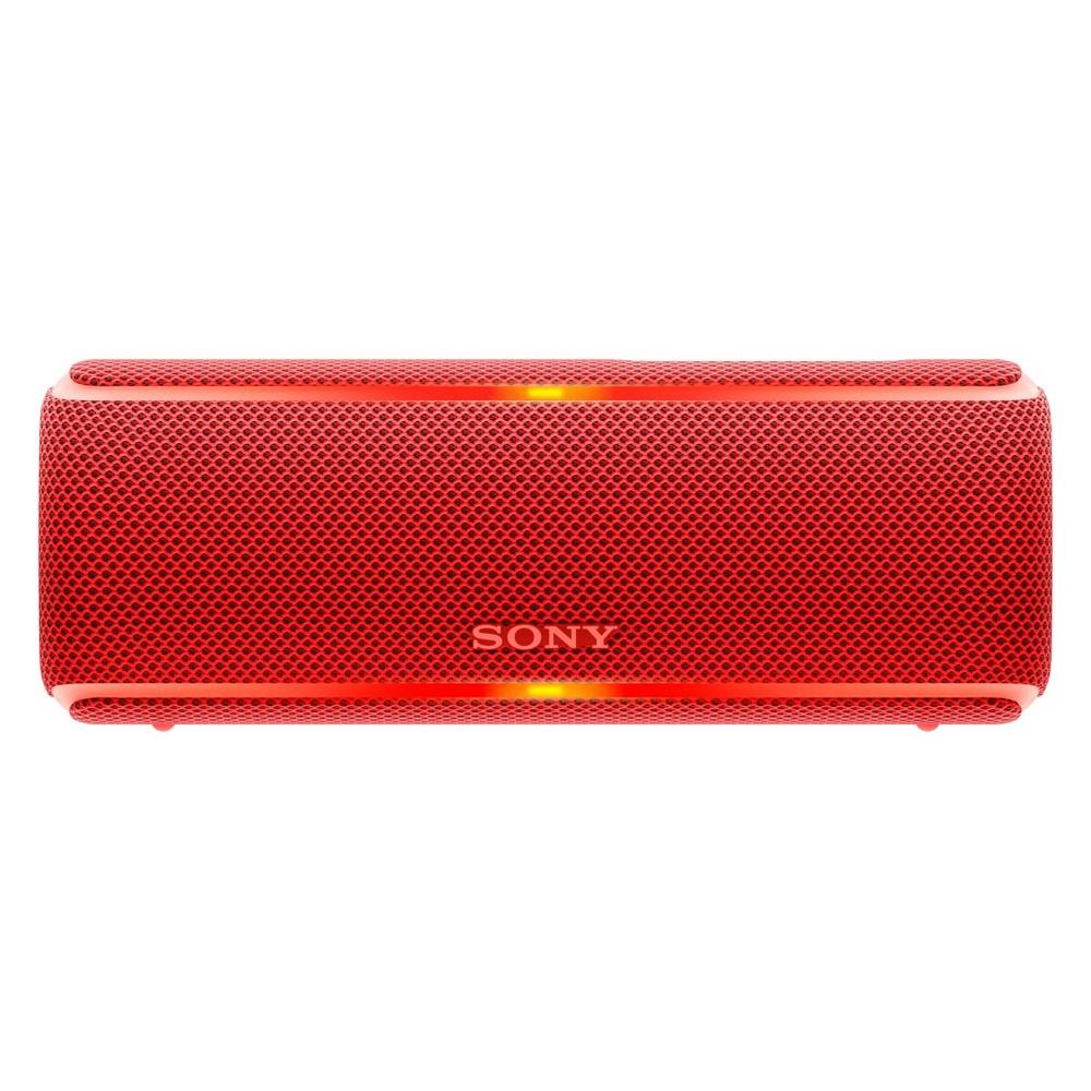Sony XB21 Waterproof Wireless Bluetooth Speaker - Red (SRSXB21/R)