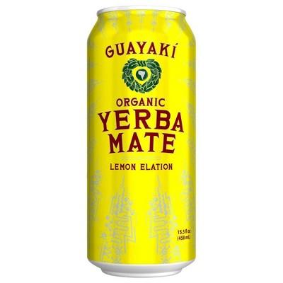 Guayaki Yerba Mate Lemon Elation - 15.5 fl oz Can