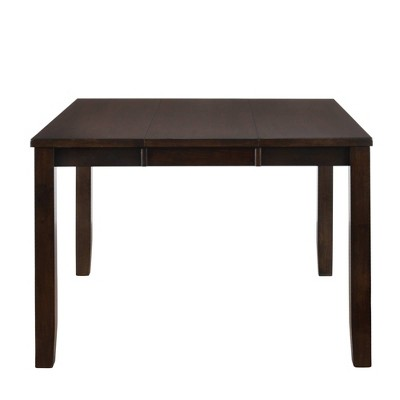 Pyke Counter Height Extendable Dining Table Espresso - Picket House Furnishings