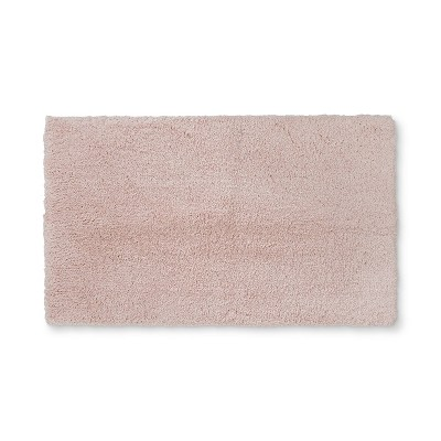 34 x20  Tufte Spa Bath Rug Peach - Fieldcrest®