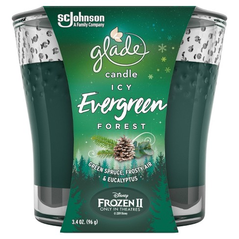 Glade Candle - Icy Evergreen Forest - 3.4oz - image 1 of 4