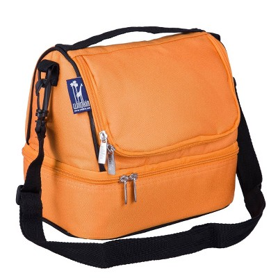 Wildkin Dual Compartment Lunch Bag - Bengal Orange