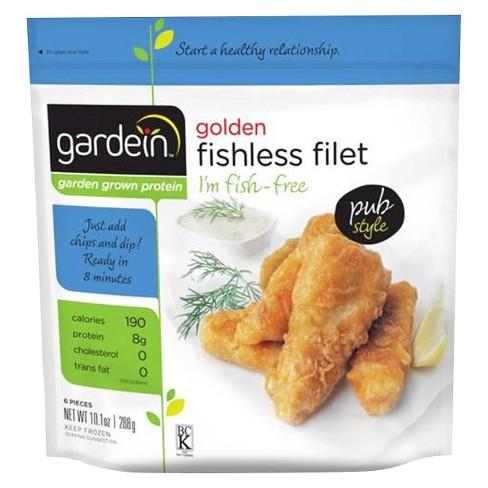 Gardein Golden Frozen Fishless Filet - 10.1oz - image 1 of 4