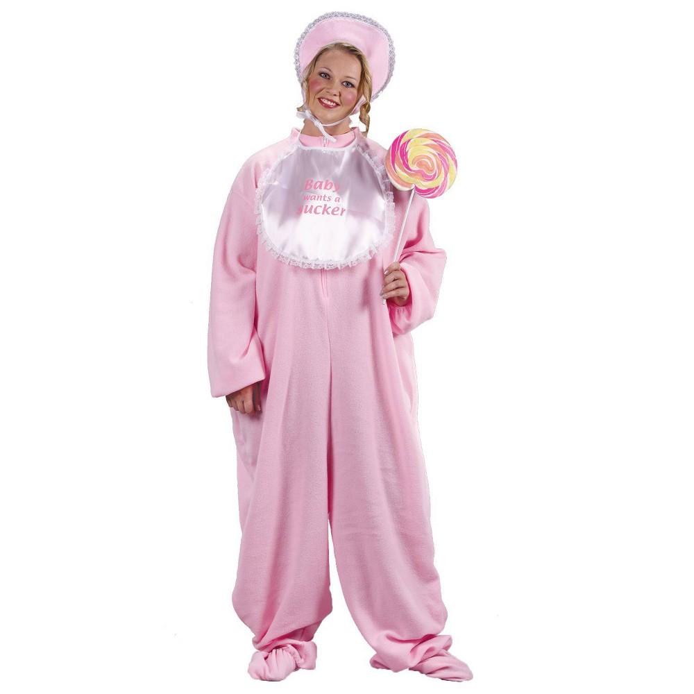 Image of Halloween Adult Pj Jammies Costume One Size, Adult Unisex, Pink