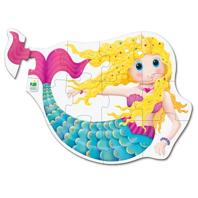 The Learning Journey My First Big Floor Puzzle Mermaid 12 pcs