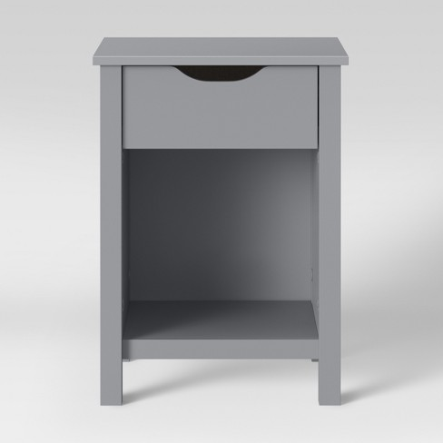 Osa Kids Nightstand Light Gray - Pillowfort™ - image 1 of 4