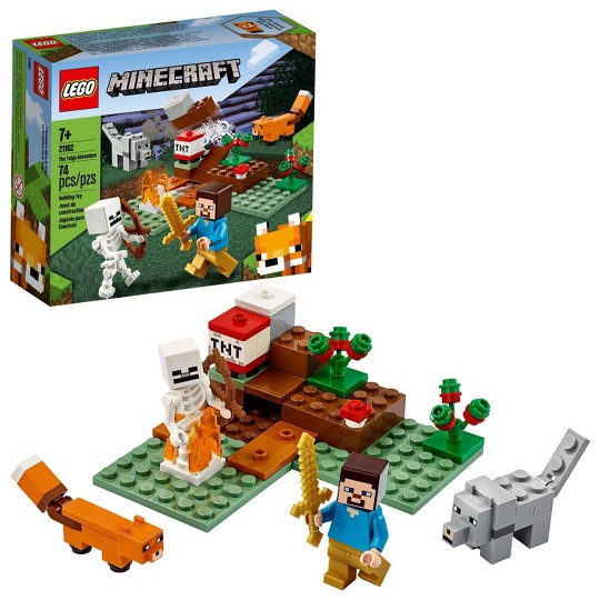 LEGO Minecraft The Taiga Adventure 21162 Building Toy image number null