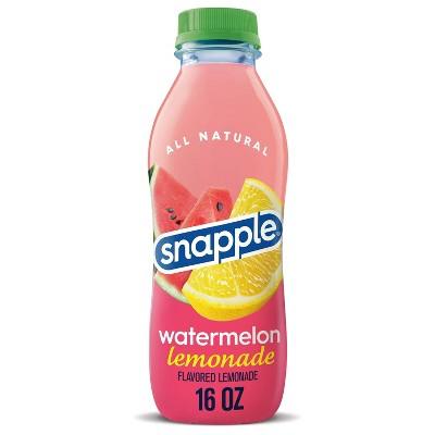 Snapple Watermelon Lemonade - 16 fl oz Bottle