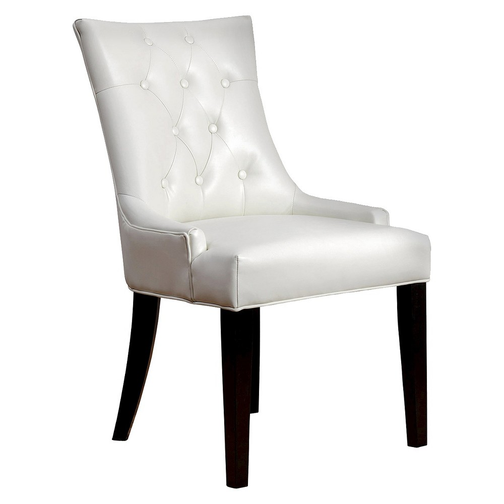 Napa Leather Dining Chair - Ivory, Ivory Cumin