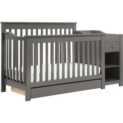 DaVinci Piedmont 4-in-1 Crib and Changer Combo - Slate