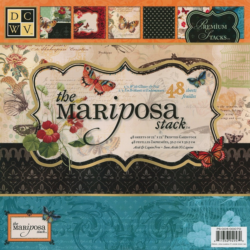 Image of Die Cuts With A View Scrapbooking Cardstock Pack