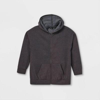 Girls' Oversized Zip-Up Sweatshirt - art class™