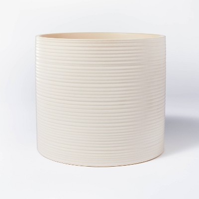 Textured Ceramic Vase Off White - Threshold™ designed with Studio McGee