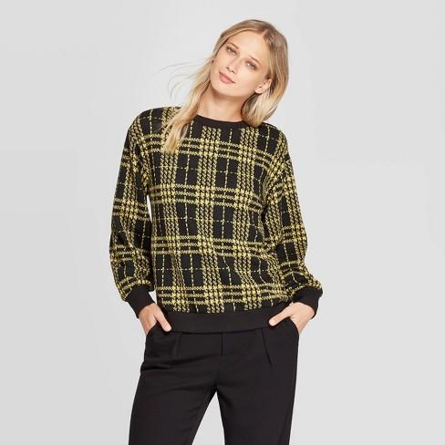Women's Long Sleeve Crewneck Sweatshirt - Who What Wear™ - image 1 of 3