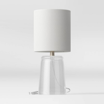 Bubble Glass Accent Lamp Clear - Threshold™
