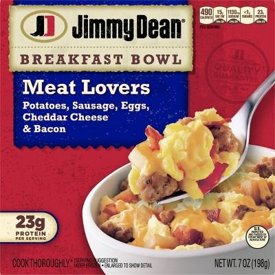 Jimmy Dean Frozen Meat Lovers Breakfast Bowl - 7oz