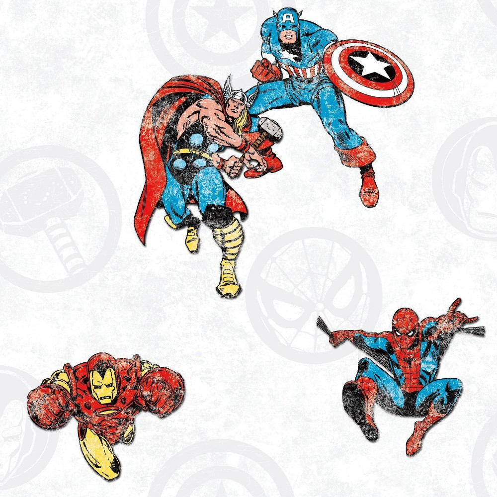 Image of Rommates Marvel Avengers Classic Peel & Stick Wallpaper