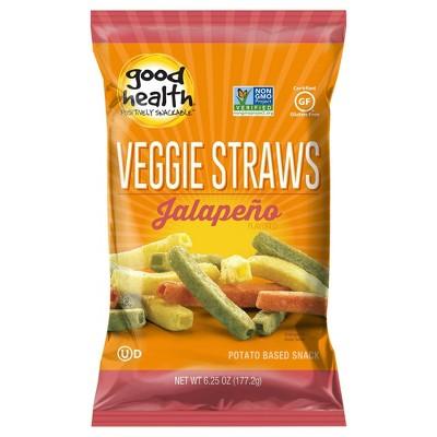 Good Health Jalapeno Veggie Straws - 6.25oz