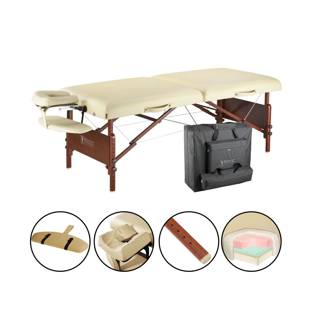 """Image of """"Master Massage Del Ray Pro Portable Massage Table Package - Sand Color - 30"""""""""""""""