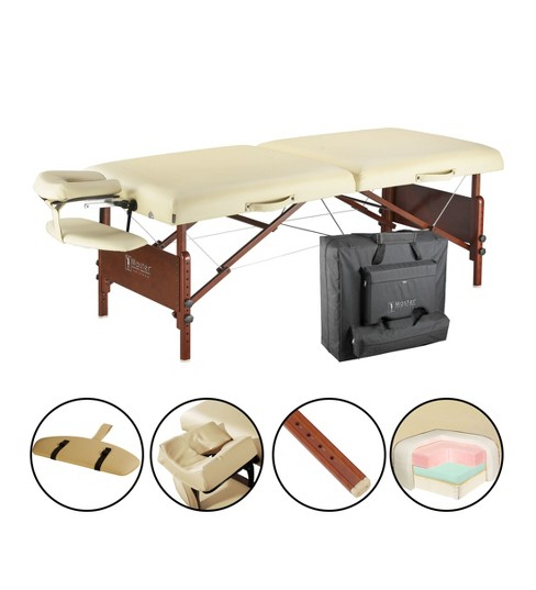 "Master Massage Del Ray Pro Portable Massage Table Package - Sand Color - 30"" - image 1 of 5"
