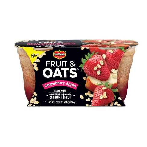 Del Monte Strawberry Apple Fruit & Apple Fruit Cups - 2ct - image 1 of 1